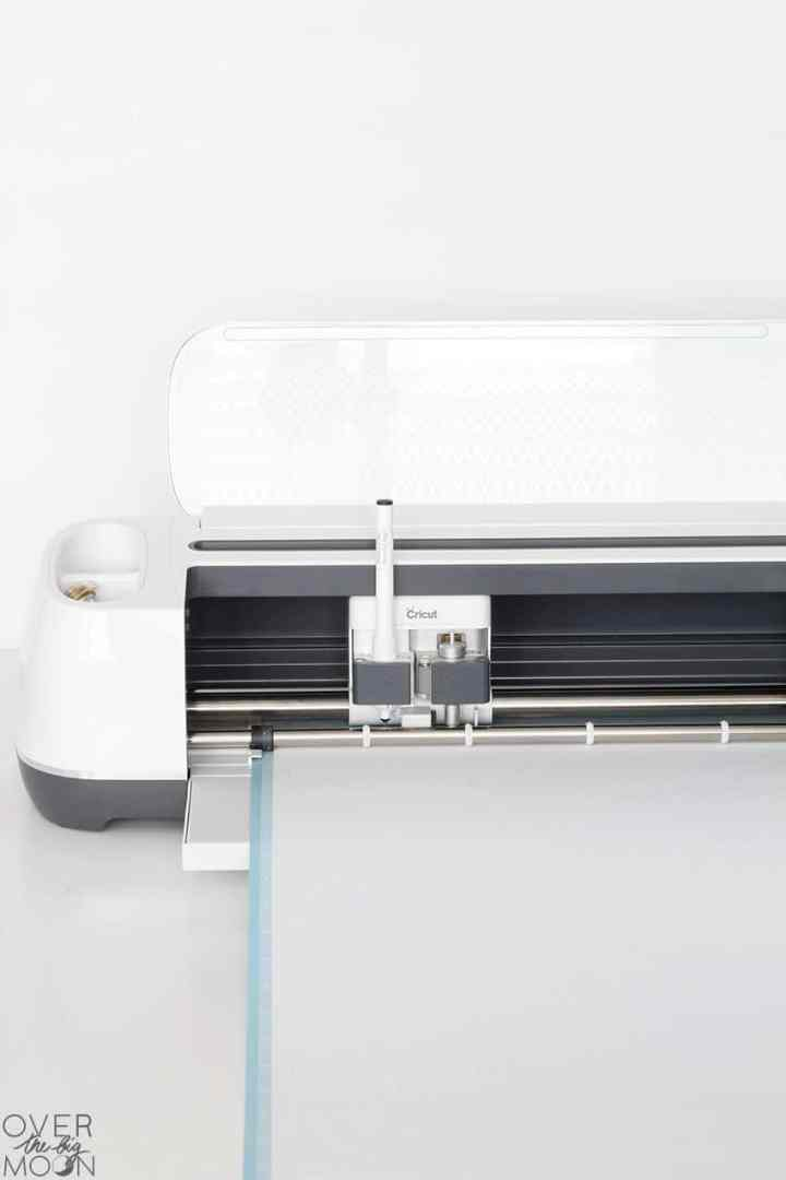 Cricut Maker with writing feature! From overthebigmoon.com!