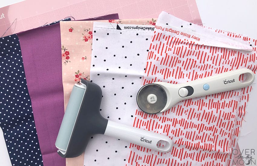 Designer Fabrics from Cricut to make Hand Warmers!
