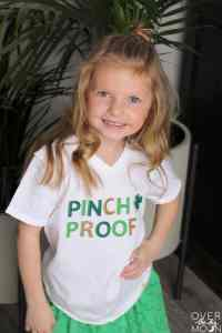 Fun Pinch Proof Shirt made using the Cricut Maker!