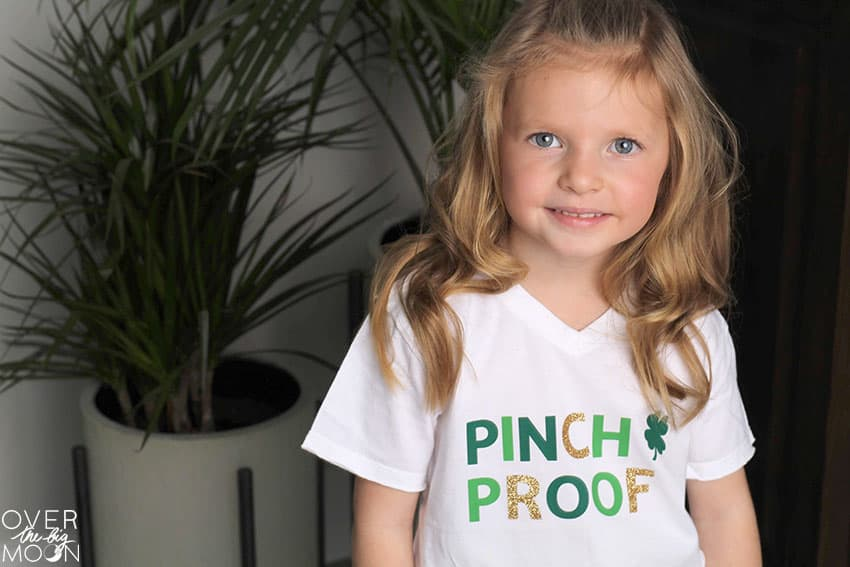 Pinch Proof Shirt Design perfect for St. Patrick's Day!
