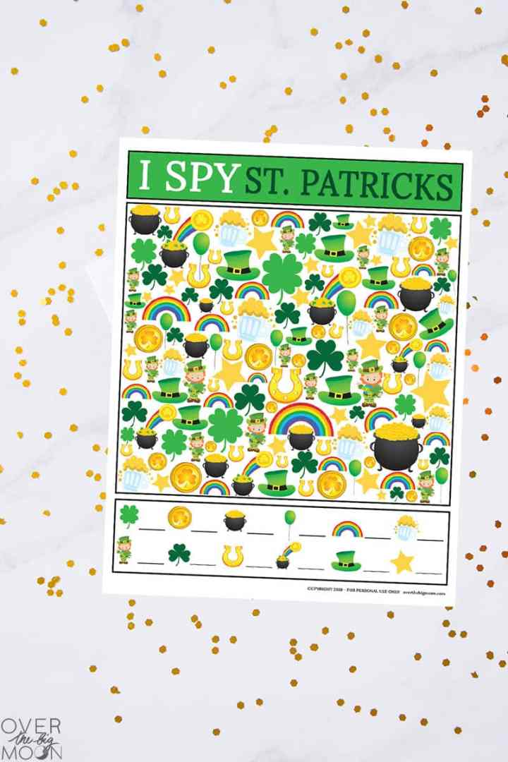 St. Patrick's Day Printable Game