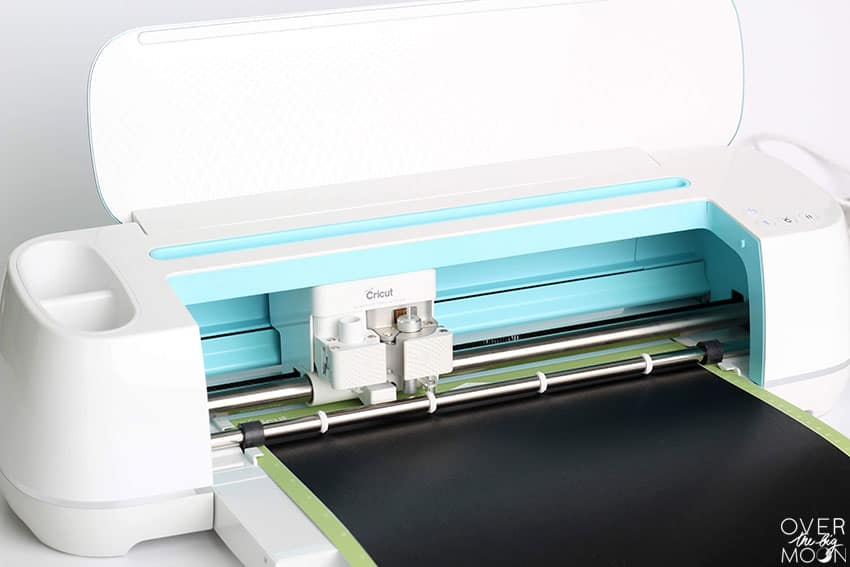 Cricut Maker cutting Premium Vinyl!