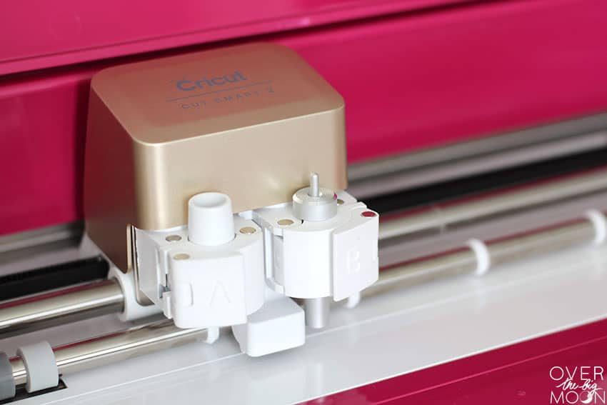 Smart Cut System in the Cricut Explore Air 2.