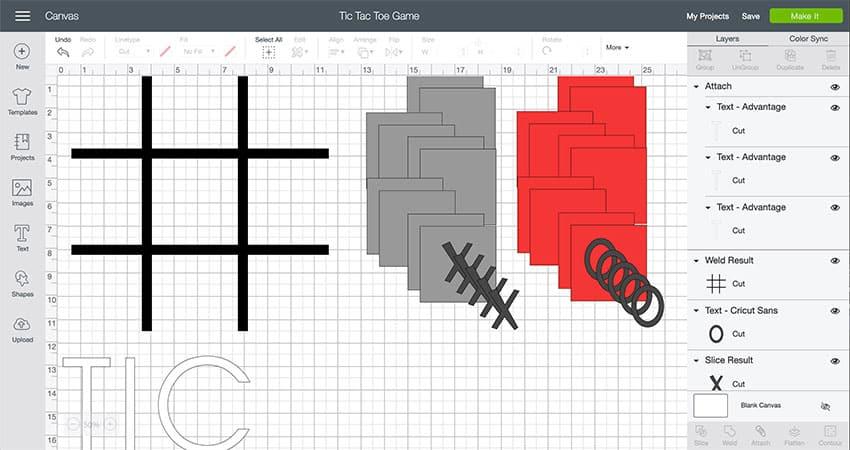 Tic Tac Toe Design Space File