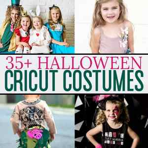 35+ DIY Halloween Costumes Using the Cricut