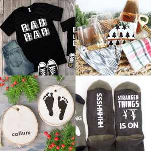 35+ Cricut Christmas Gift Ideas