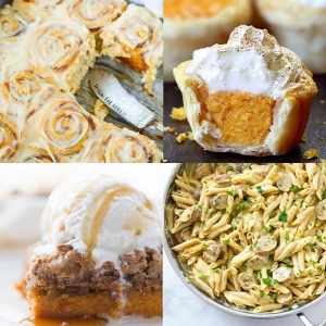 60+ of the BEST Pumpkin Flavored Recipes