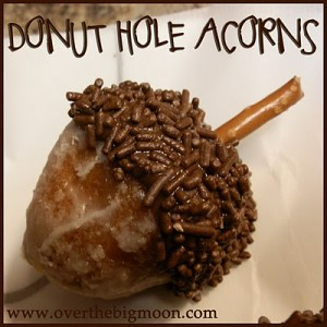 Donut Hole Acorns