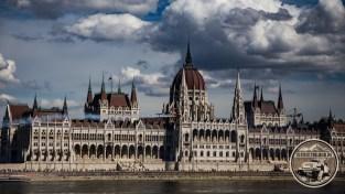 Das eindrucksvolle Parlament...