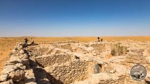 Ein altes Römisches Fort auf der Linie des südlichen Limes soll hierunter stecken.