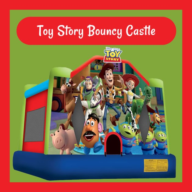 Toy Story Bouncy Castle