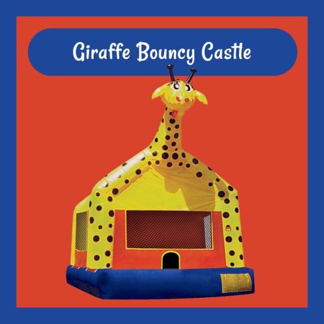 Giraffe Bouncy Castle