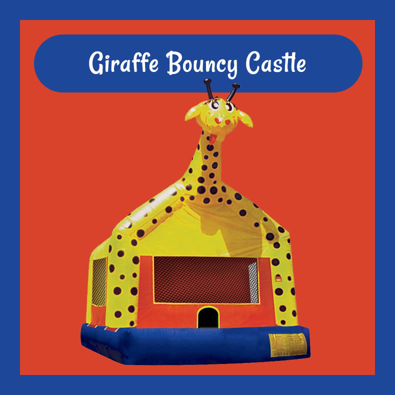 Giraffe Bouncy Castle