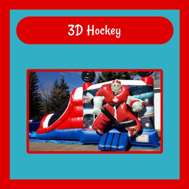 3D Hockey Bouncy