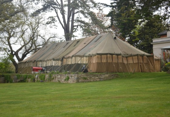 The Pig Hotel, African Safari Theme Tent