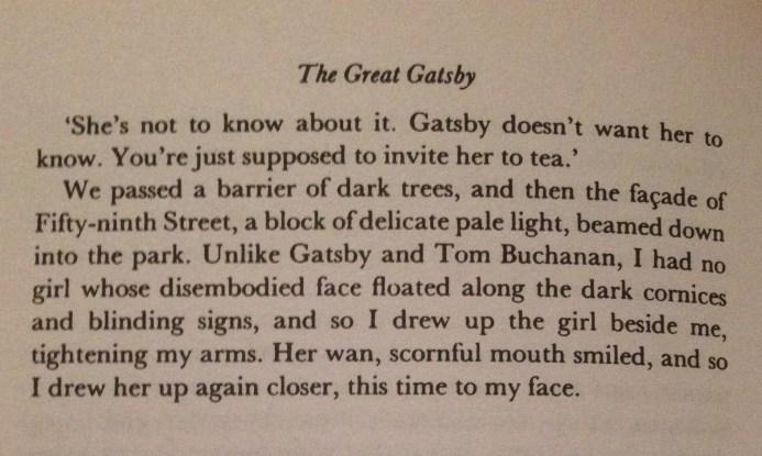 F. Scott Fitzgerald, The Great Gatsby, Chapter IV - 3