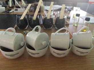 Infusion de thés parfumés avec le kit de dégustation Dammann Frères - ©Chloé Chateau