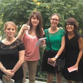 Petite brochette de blogueuses... sans charlottes ! ;-) avec Valentine, Estelle et Addie - DR
