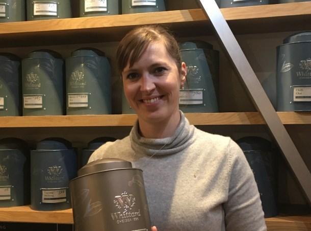 Merci beaucoup à Marie-Laure pour la visite de la boutique Whittard of Chelsea de Covent Garden