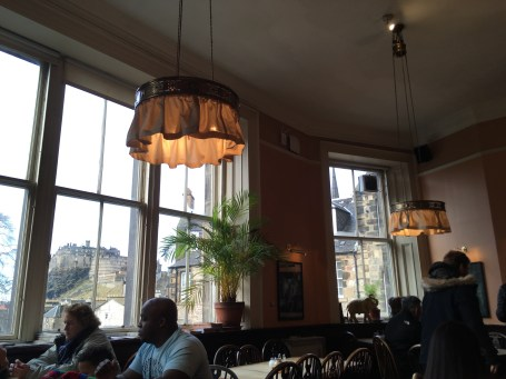 The Elephant House in Edinburg - Birth place of Harry Potter - ©Chloé Chateau