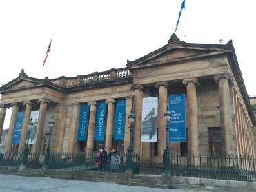 Scottish National Gallery in Edinburg - ©Chloé Chateau