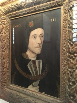 Inside King's College Chapel in Cambridge - Richard III