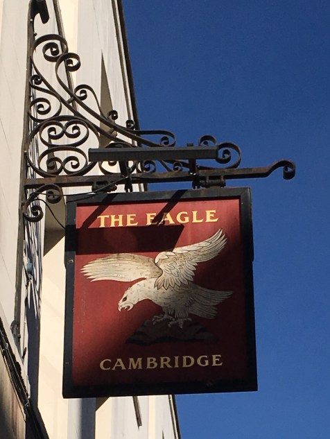 The Eagle pub in Cambridge