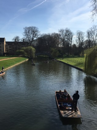River Cam and punts