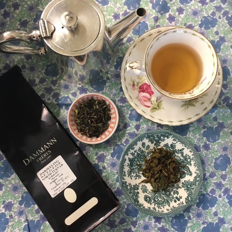 Dégustation Darjeeling North Tukvar First Flush 2017 Dammann ©Chloé Chateau