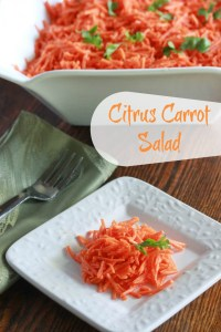 Citrus Carrot Salad