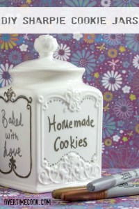 DIY Cookie Jars with Sharpies