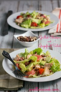Grilled Chicken and Grapefruit Salad