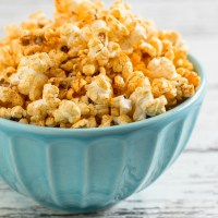 Homemade Barbecue Popcorn