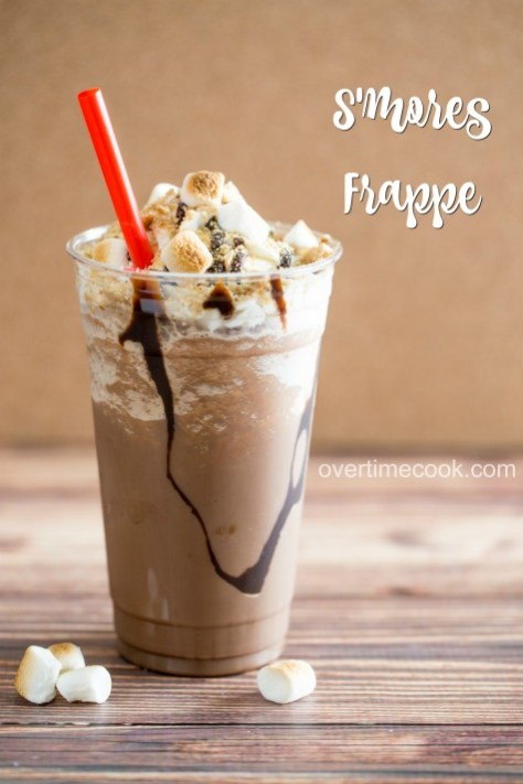 s'mores frappe on overtimecook
