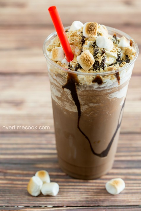s'mores frappe overtimecook