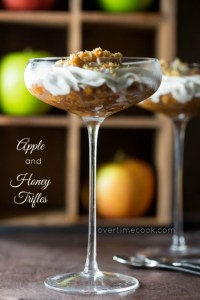 Apple and Honey Trifles