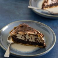 Brownie Brittle Ice Cream Pie
