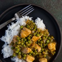 Quick and Easy Chicken and Pea Stew