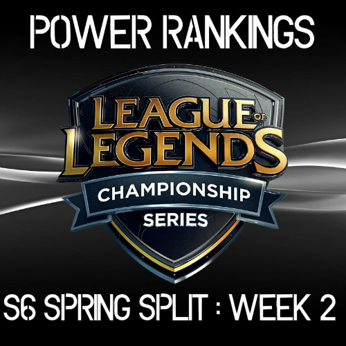 LCS Power Rankings: Entering Week 3