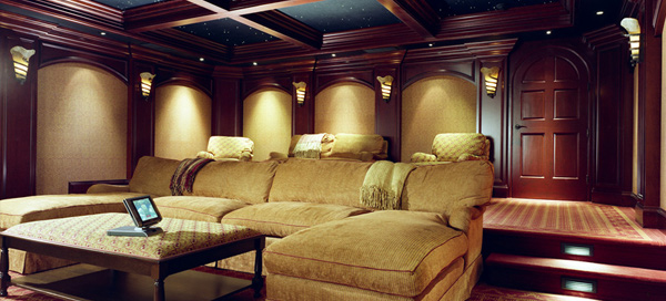 Home Theater Interiors  Overture Home Theater  Delaware Tax Free Audio Store