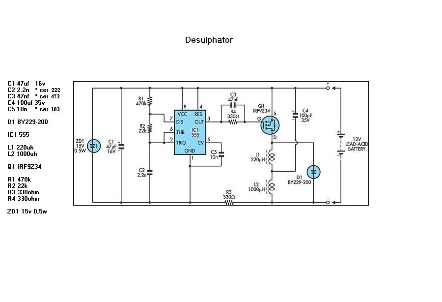 The Self Battery Charger Circuit