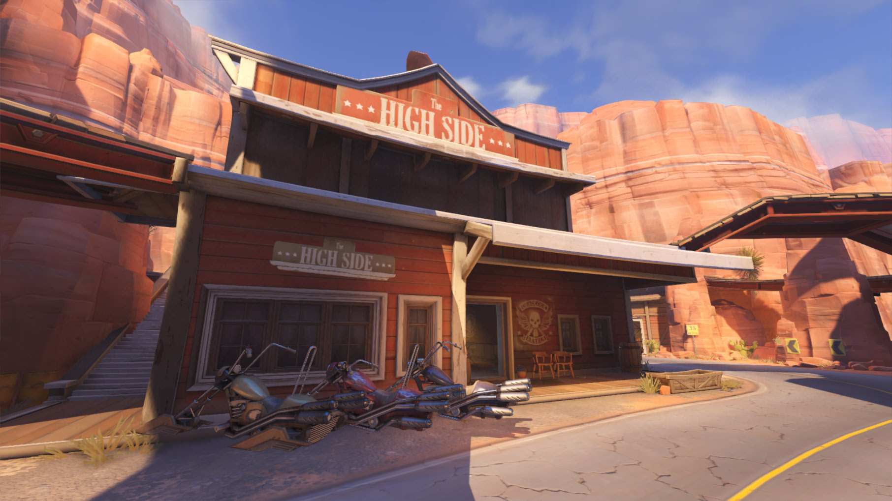 Carte Route 66 Pour Overwatch Overwatch JudgeHype