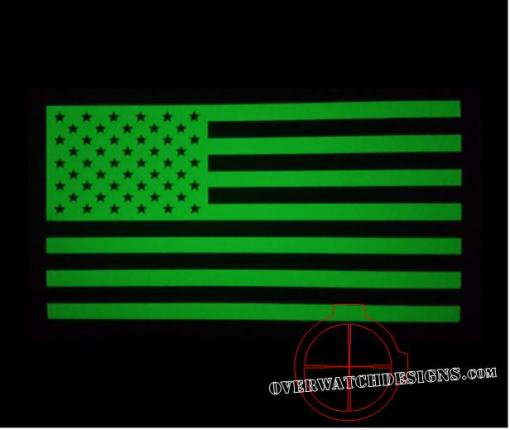 Glow in the Dark Decal Flag