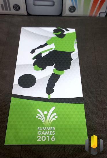 Ingresso para os Jogos de Verão
