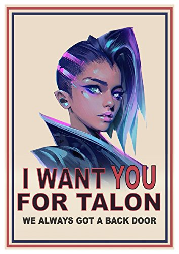 overwatch sombra poster i