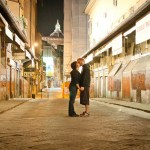 Love in Florence on the Bridge of Gold