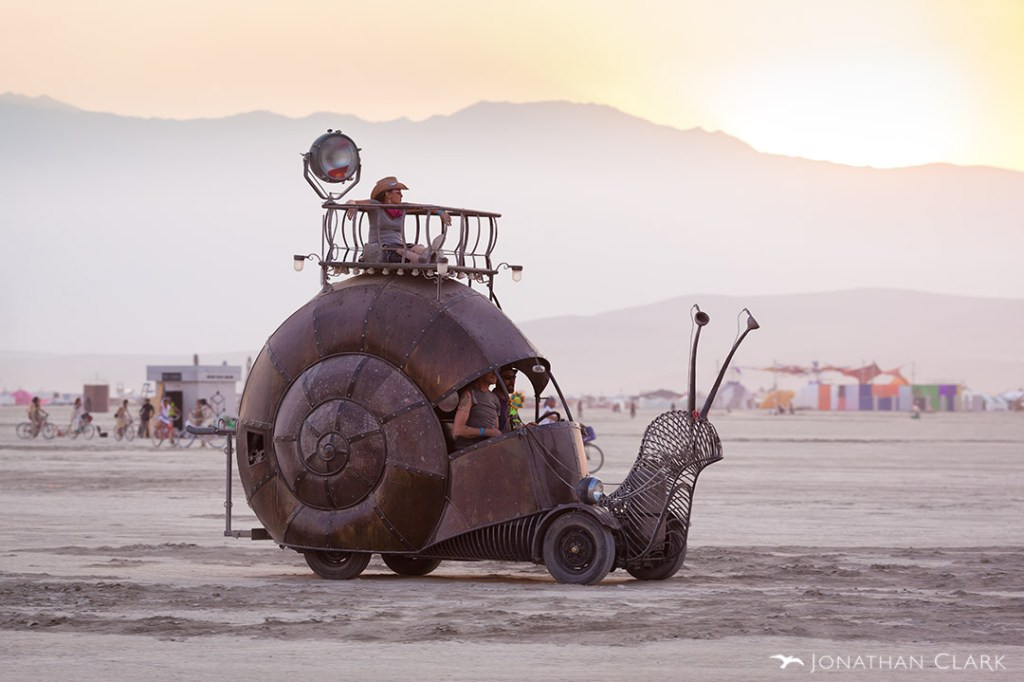 burning-man-2013-cargo-cult-black-rock-city-playa-jonathan-clark-snail-art-car