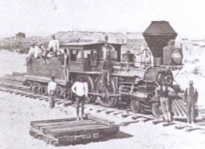AZ locomotive-first