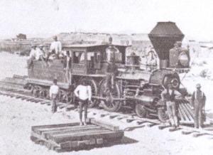AZ locomotive-first