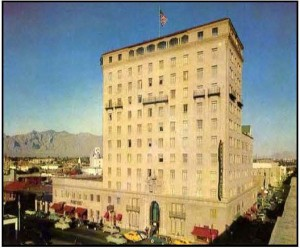 Pioneer Hotel downtown Tucson